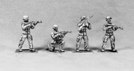 Modern Soldiers with Mich Helmets (UN02A MICH HEADS)
