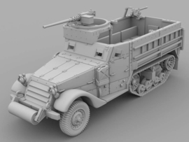 M3A1 Halftrack - 1/48 Scale