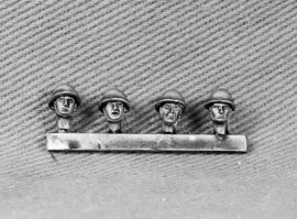 British Heads with Assualt Helmet (BAOR12)