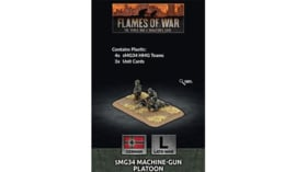 sMG34 Machine-gun Platoon (x4 Plastic)