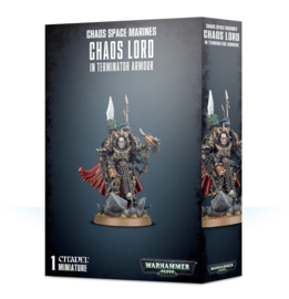Chaos Space Marines Terminator Lord / Sorcerer Lord in Terminator Armour
