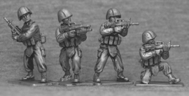 Chinese Infantry Firing (PLA3)