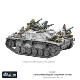 German Heer Begleit Stug riders (Winter) + StuG