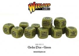 Order Dice - Green