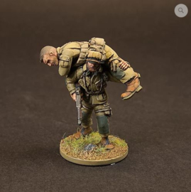 US Para's - Casualty set (3 figures)