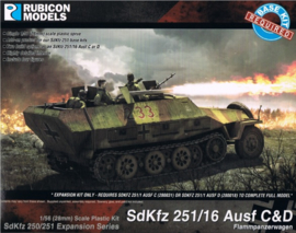 SdKfz 251/16 Ausf C/D (upgrade kit)