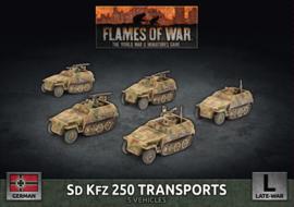 Sd Kfz 250 Transports (Plastic)