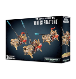 Vertus Praetors / Shield-Captain on Dawneagle Jetbike