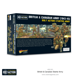 Pre-order: British & Canadian Army (1943-45) Starter Army