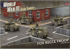 PRE ORDER: Fox Recce Troop (Plastic)
