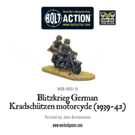 Blitzkrieg German Kradschützen Motorcycle (1939-1942)