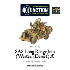 SAS long range Jeep (Western Desert) A