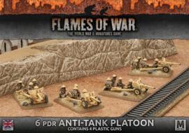6 pdr Anti-tank Platoon (Plastic)