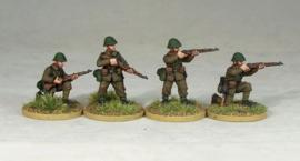 Romanian Riflemen Firing/Loading (R003)