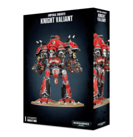 Knight Valiant / Knight Tyrant with Conflagration Cannon and Thundercoil Harpoon