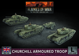 Churchill Armoured Troop (Plastic)