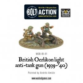 British Oerlikon light anti-tank gun (1939-40)