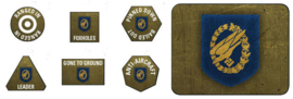 Fallschirmjager Tokens (x20) and Objectives (x2)