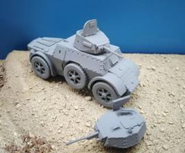 Autobinda AB41/43 Armoured Car - 1/56