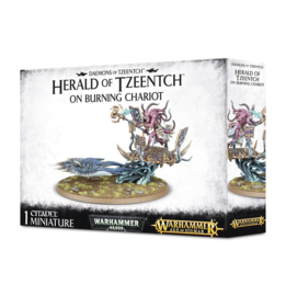 Herald of Tzeentch on Burning Chariot / Exalted Flamer of Tzeentch