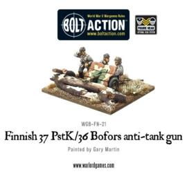 Finnish 37 PstK-36 Bofors anti-tank gun