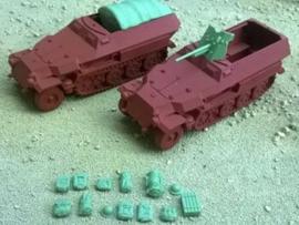 251/Ausf C Variants - 1/56 Scale