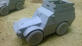 Autoblindo AS37 Armoured Roof - 1/56 Scale