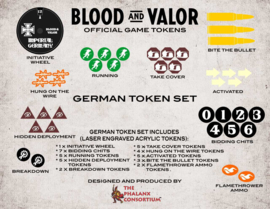 PRE ORDER: Blood and Valor German Token Set