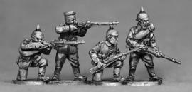 German Riflemen Firing/Loading (GER07)