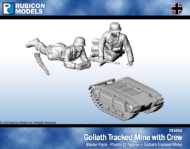 Goliath Tracked Mine with Crew (PLASTIC)