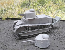 Renault FT17 - 1/56 Scale
