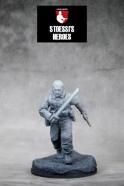"British Army Lt. Col. – John Malcolm Thorpe Fleming ""Mad Jack"" Churchill"