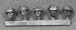 British Heads with Camouflaged Helmets (BRIT12)