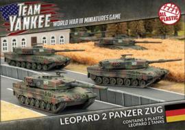 Leopard 2 Panzer Zug (Plastic)