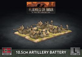 10.5cm Artillery Battery (Plastic)