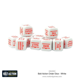 Order Dice - White