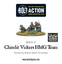 Chindit Vickers MMG Team