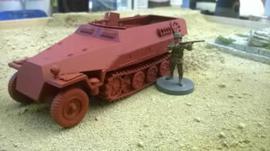 251/1 Ausf D Halftrack - 1/48 Scale