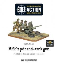 BEF 2 pounder anti-tank gun