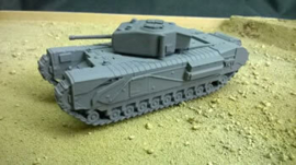 Churchill MK IV - 1/56 Scale