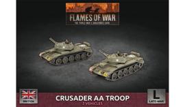 Crusader AA Troop (Plastic)