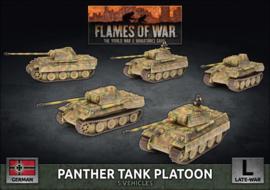 Panther A Tank Platoon (plastic)