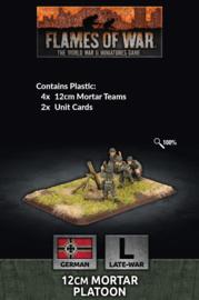 12cm Mortar Platoon (Plastic)