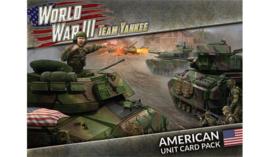 World War III: American Unit Card Pack