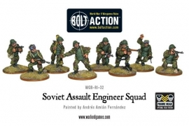 Soviet Assault Engineer squad - UITLOPEND
