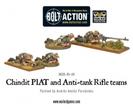 Chindit Piat and Anti-tank Rifle team
