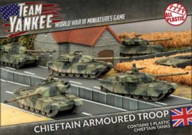Chieftan Armoured Troop (Plastic)