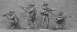 US Marines with Boonie Hats Firing (USMC3B)