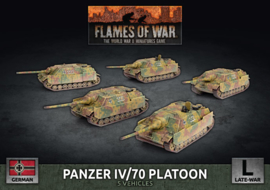 Pre-order: Panzer IV/70 Platoon (Plastic)