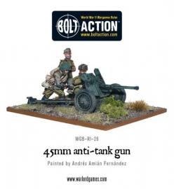 Soviet 45mm Anti-Tank Gun